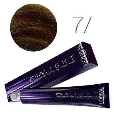 Loreal Dia Light - Краска для волос № 7 блондин, 50мл