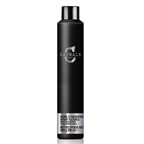 TIGI CATWALK SESSION SERIES WORK IT HAIRSPRAY - Лак-спрей, 300мл
