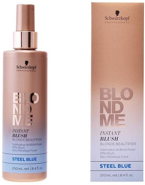 BlondMe Instant Blushes - Тонирующие спрей Steel blue, 250мл