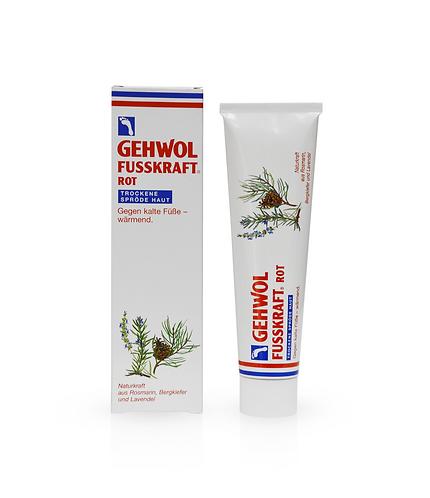 Gehwol Fusskraft - Красный бальзам для сухой кожи ног, 75мл