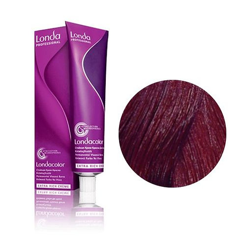 Londa - Стойкая крем-краска Londacolor Cветлый шатен медно-фиолетовый 5/46 60ml