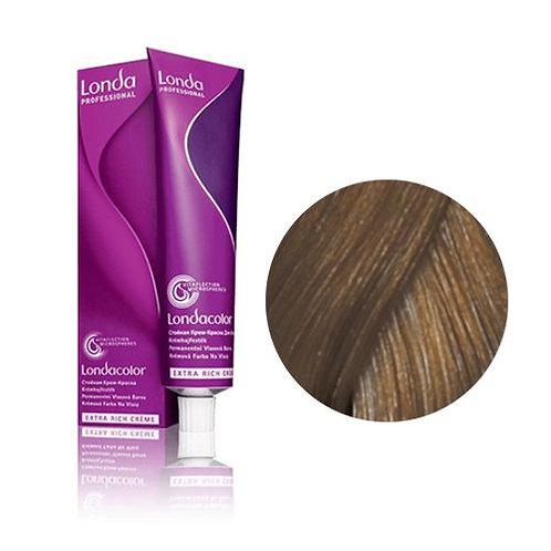 Londa - Стойкая крем-краска Tемный блонд коричнево-пепельный 6/71 60ml