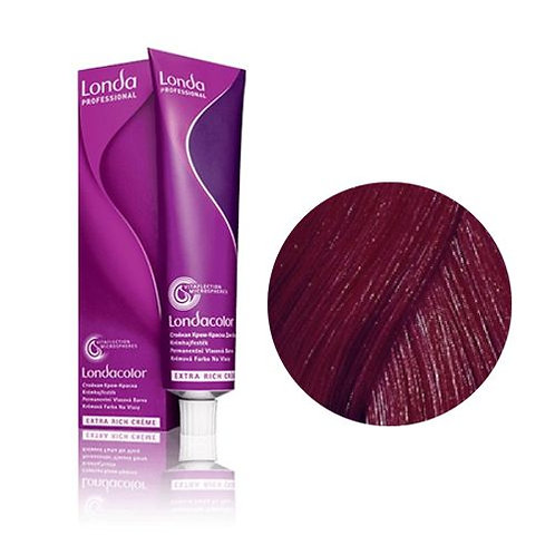 Londa - Стойкая крем-краска Londacolor темный блонд медно-фиолетовый 6/46 60ml