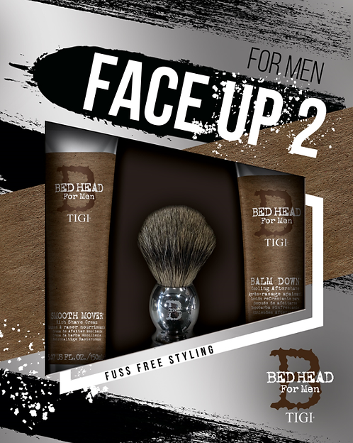 TIGI BED HEAD for MEN FACE UP 2 - Мужской набор