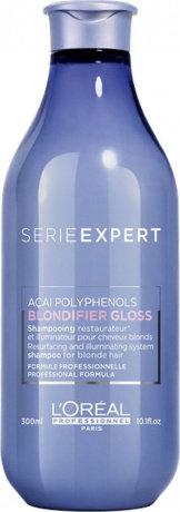 L'Oreal Blondifier Gloss - Шампунь для осветленных и мелированных волос, 300мл