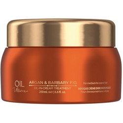 Oil Ultime Oil-in-Cream Treatment - Маска для жестких и средних волос, 200 мл