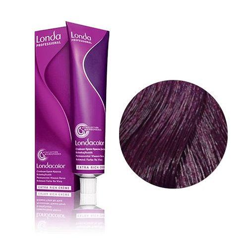 Londa - Стойкая крем-краска Londacolor Шатен фиолетово-красный 4/65 60ml