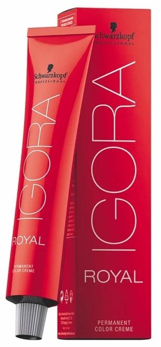 Igora Royal - Стойкая крем-краска 5-99 светло коричневый фиолетовый экстра