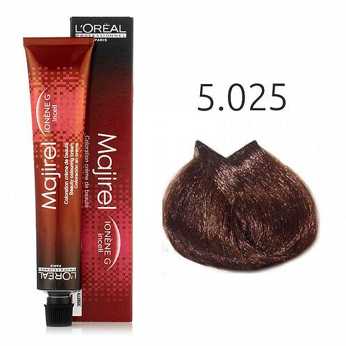 Loreal Majirel - Краска для волос, Френч браун № 5.025, 50мл
