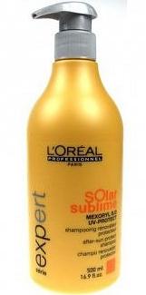 L'Oreal Solar Sublime - Восстанавливающий шампунь после солнца, 500мл