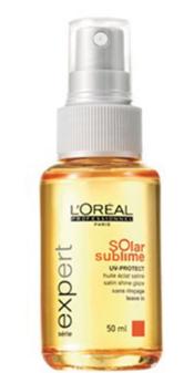 L'Oreal Solar Sublime - Масло-сияние шелка, 50мл