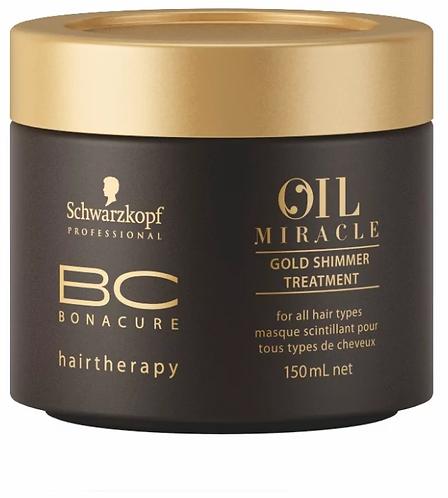 BC Bonacure Oil Miracle Argan oil - Маска для волос Золотое сияние, 150мл