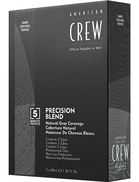 American Crew - Камуфляж седины, 2/3 Темный Натуральный, 3*40мл