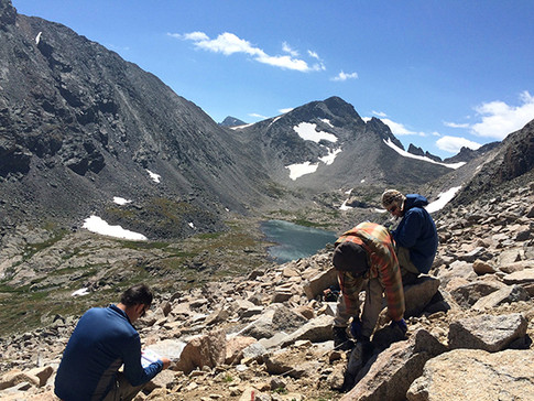 Niwot Ridge at the Colorado Rocky Mountains