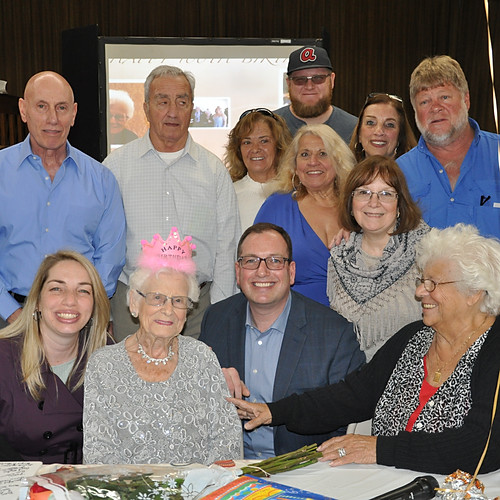CAROLINE'S 100TH BIRTHDAY PARTY