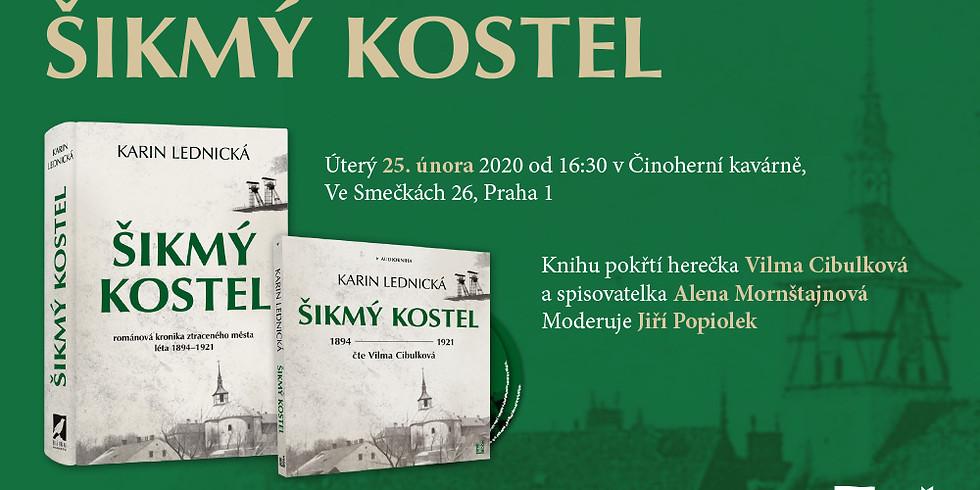 Křest knihy a audioknihy v Praze