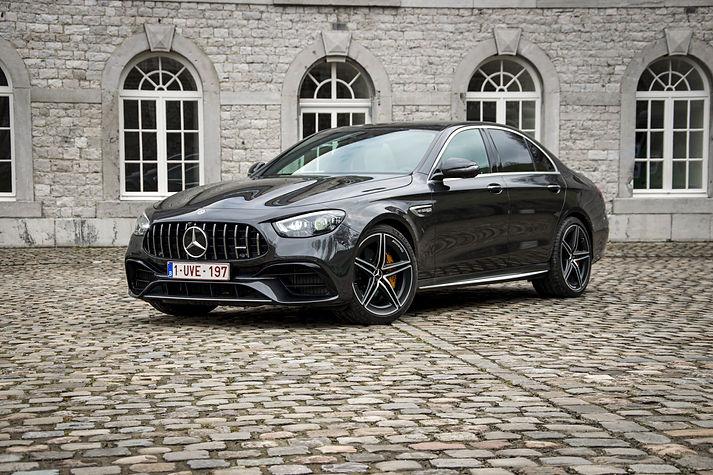 Mercedes E63S Graphite Grey