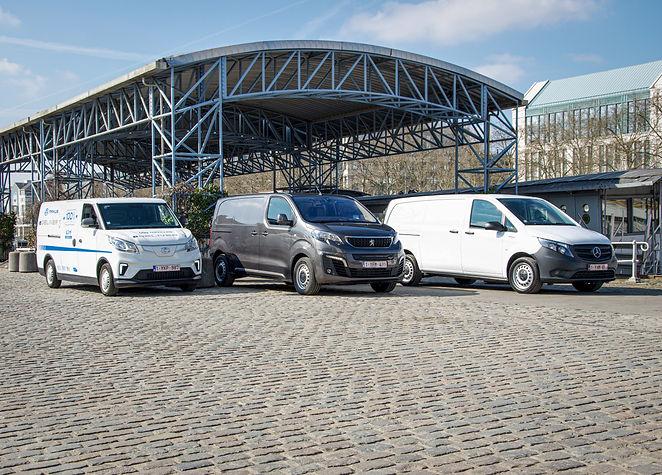 Maxus eDeliver 3, Mercedes eVito, Peugeot eExpert