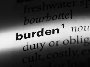 The burden for progress
