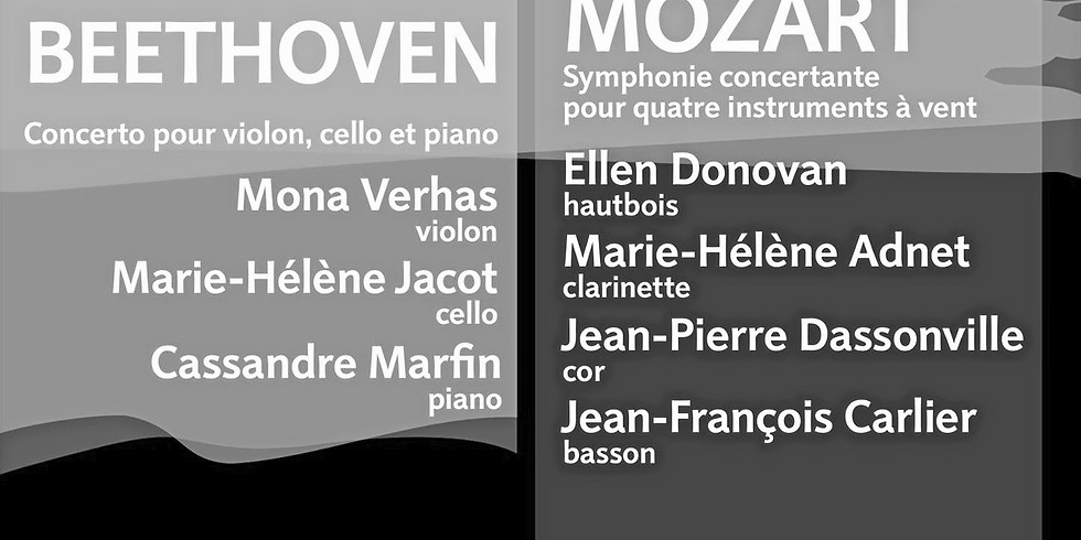 Beethoven Triple Concerto with EOB - CANCELED!