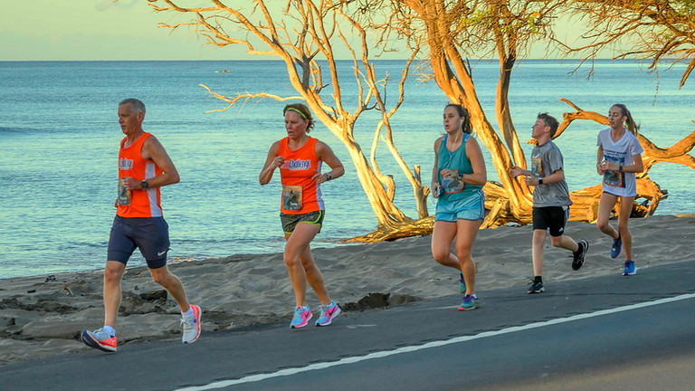 The Maui Oceanfront Half Marathon
