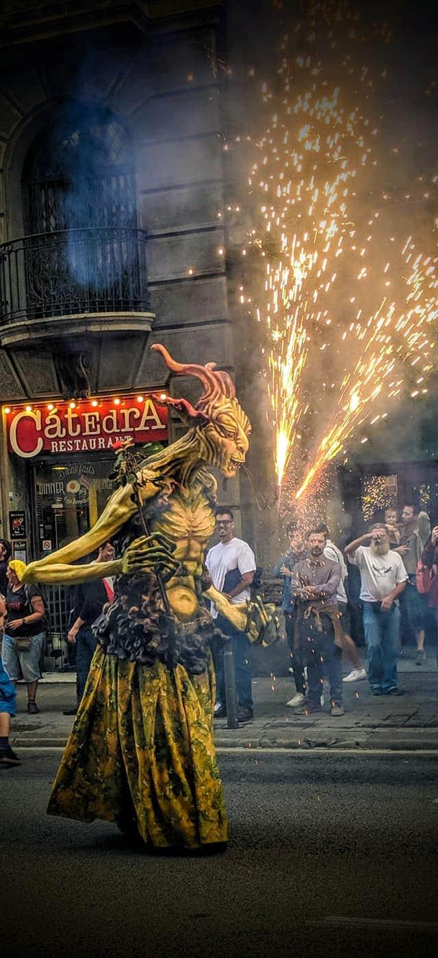Correfoc, Barcelona
