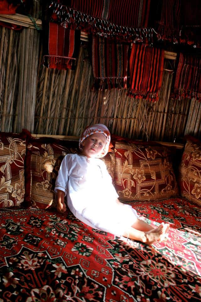 Bedouin Camp, Oman
