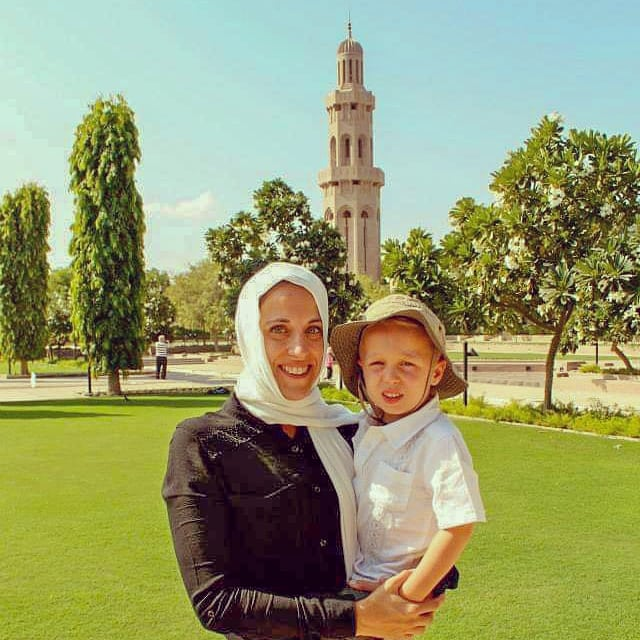 The Sultan Qaboos Grand Mosque, Muscat, Oman