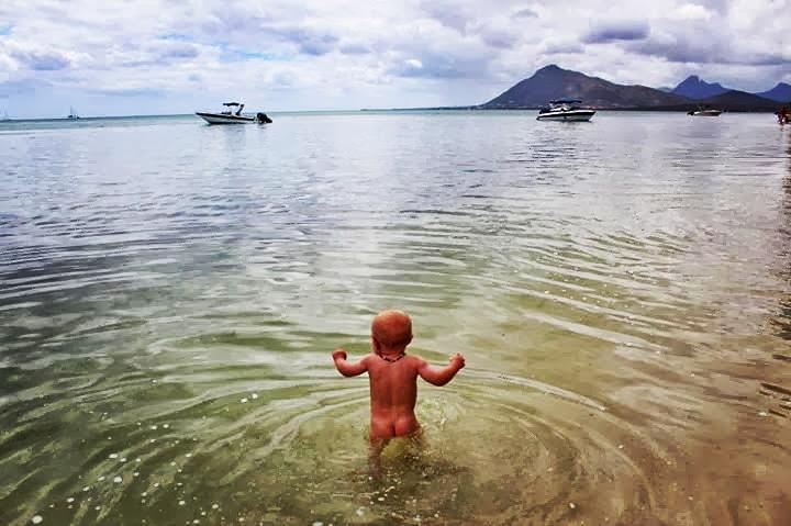 Indian Ocean off Mauritius