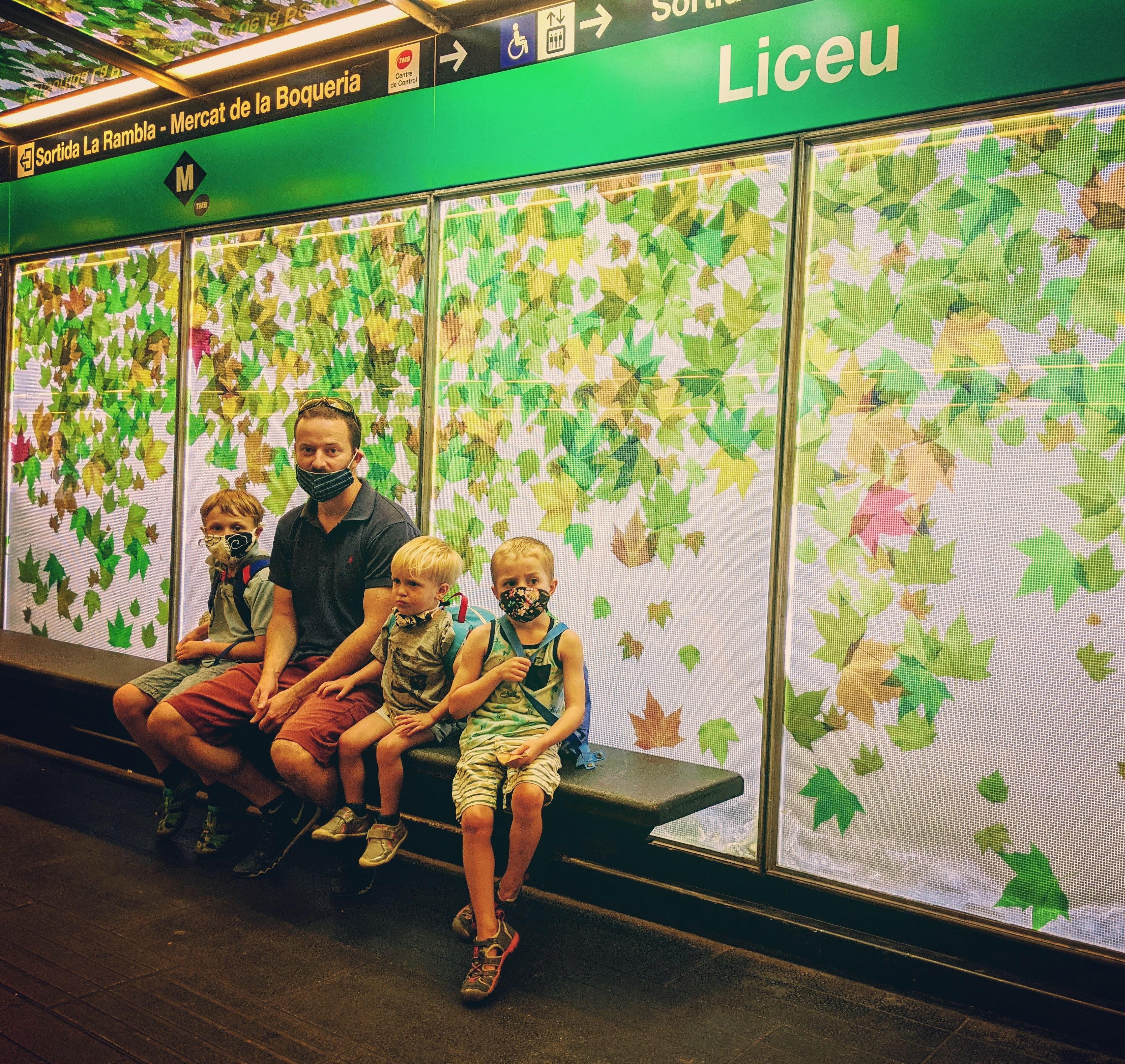 Liceu Metro Station, Barcelona