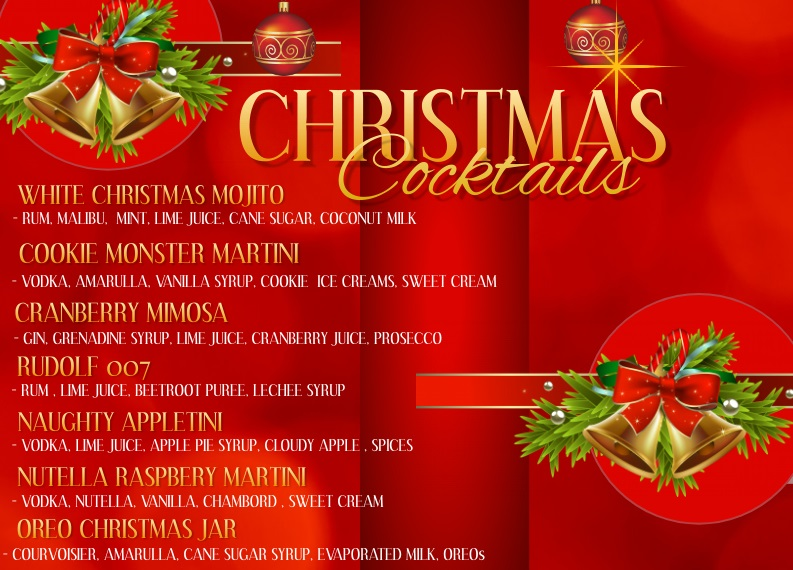 Christmas cocktail classes