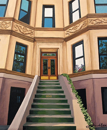 New York City apartment painting art