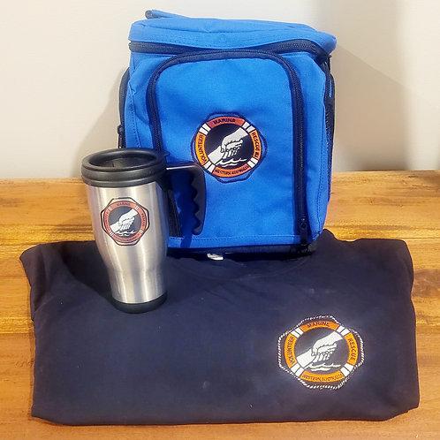 T'shirt, Cooler Bag and Travel Mug Bundle