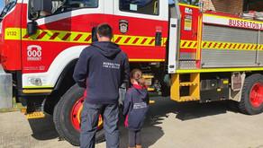 Personalised WA Volunteer Fire & Rescue Hoodies