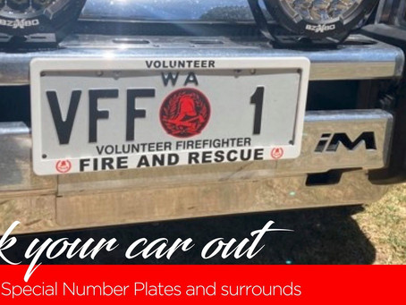 Deck your car out with VFF special number plates