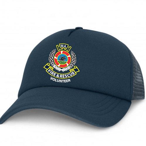 Navy Trucker Cap