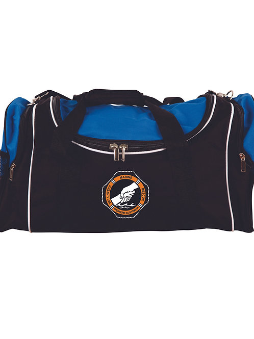 Black & Blue Sports Bag