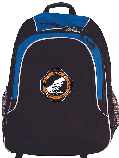 Black & Blue Backpack
