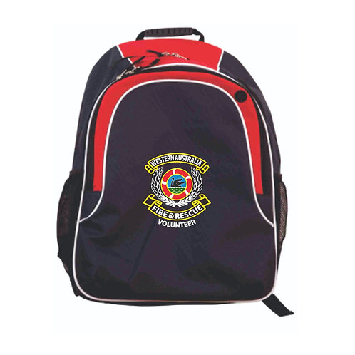 Backpack (Navy/Red)