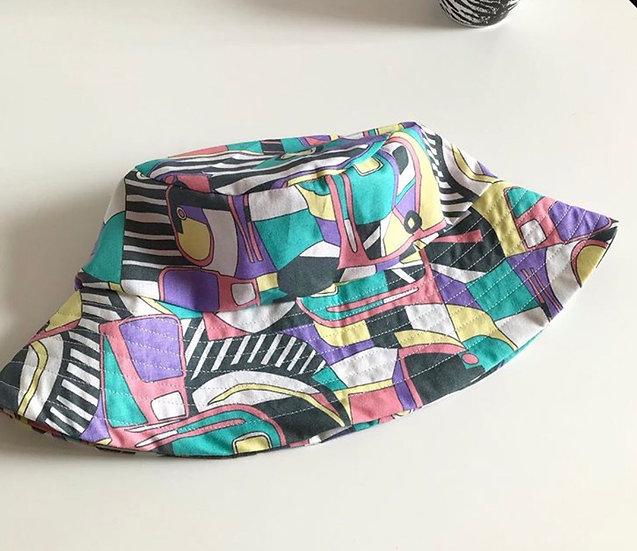 80s bucket hat