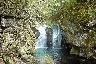 二鹿 梅津の滝