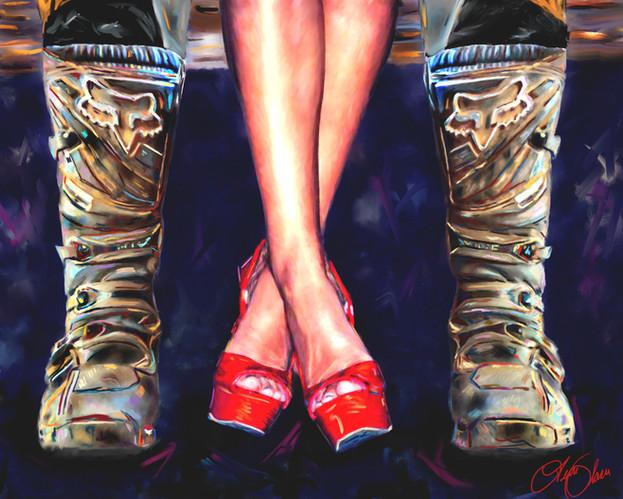 Alexa Boots & Shoes