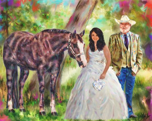 Destine's Wedding