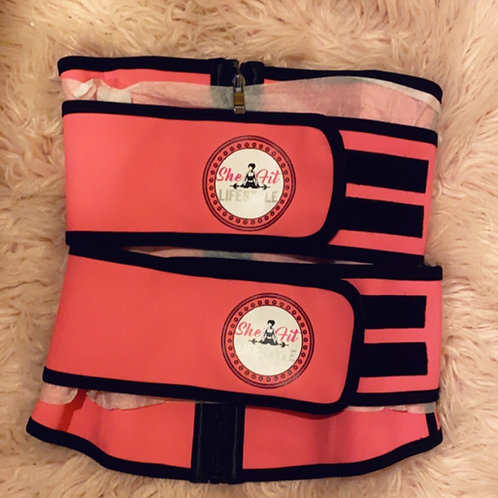 Pink She Fit Waist Trainer