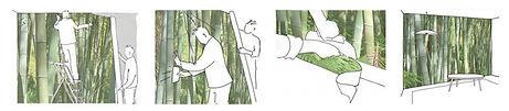 etapes pose papier peint 2