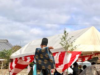 唐子台の家 地鎮祭