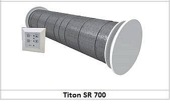 Едностаен рекуператор със запазване на топлината - SR700 Single Room Heat Recove