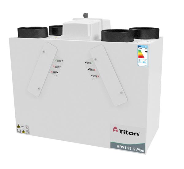 Рекуператор Titon, UK HRV1.25 Q Plus (MVHR)