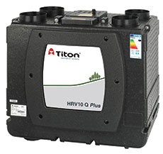 Рекуператор Titon, UK  HRV10 Q Plus