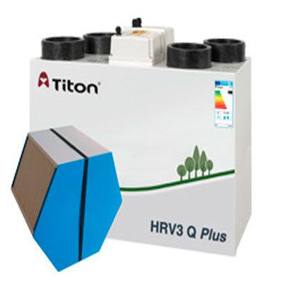 Механична вентилация с рекуперация на топлина ( MVHR )